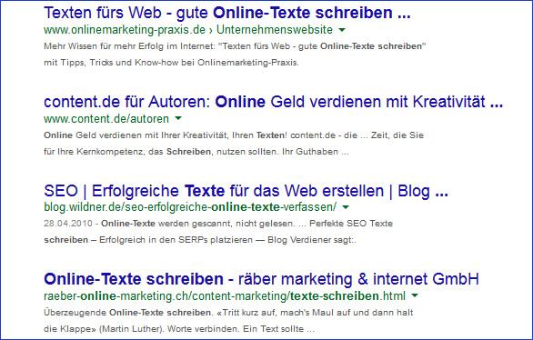 texte online schreiben
